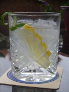 The BEST skinny girl cocktail out there. No carbs and hardly any calories. Plus, the water saves you from the dehydrating effects of alcohol. And it tastes great.no vodka taste at all when you make them correctly, just a refreshing glass of water with a Party Drinks, Cocktail Drinks, Fun Drinks, Cocktail Recipes, Alcoholic Drinks, Beverages, Drink Recipes, Keto Recipes, Low Carb Cocktails