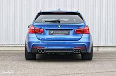 BMW Polska 3 F31 z zestawem dodatków Hamann Motorsport.  Niebieski lakier w połączeniu z felgami Anniversary EVO oraz dokładkami zderzaków sprawiają, że nawet kombi może wyglądać niezwykle atrakcyjnie!  Sprawdź ofertę Hamann dla BMW serii 3 w GranSport - Luxury Tuning & Concierge! http://gransport.pl/index.php/hamann/bmw/seria-3-f30-f31-i-f34.html