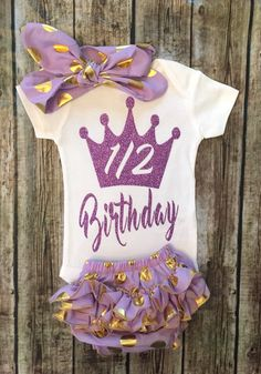 A personal favorite from my Etsy shop https://www.etsy.com/listing/280951856/half-birthday-outfit-smash-cake-onesie