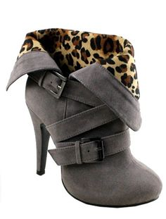 """Brandy"" High Heel Bootie-Grey from Sophisticates Handbags on Storenvy I love these ones better!!!"