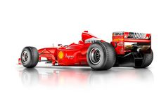 Michael Schumacher's 1998 Ferrari F1 car