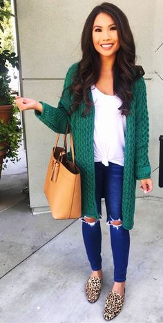 b2b54501da 55 Best Green Cardigan Outfit images in 2019