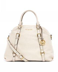 MICHAEL Michael Kors Bedford Extra Large Bowling Satchel Dove Vanilla Model: MK Handbags - 016 £56.00 http://www.mkoutlet.co.uk/