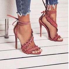 Shoeselfee Strap Stilettos