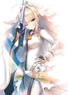 Saber Bride (Fate Series - Fate Grand/Order)