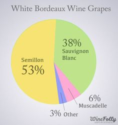 Discover White Bordeaux | Wine Folly | Find out what this famous white wine blend has to offer including food pairing recommendations. A general overview of white Bordeaux wines by Wine Folly. #Bordeaux #wine #planetbordeaux