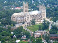 Washington, DC : National Cathedral, one of the most beautiful places ever! Oh The Places You'll Go, Places To Travel, Places To Visit, Washington National Cathedral, Washington Dc Travel, Spiritus, Columbia, Vacation Spots, Vacation Ideas
