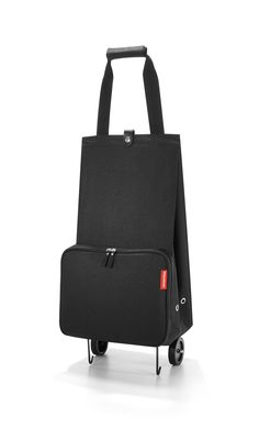 Buy the Reisenthel Folding Shopping Trolley Plain Black online from Happybags. Free UK delivery and 30 day returns. Luggage Trolley, Luggage Bags, Folding Shopping Trolley, Shops, Plain Black, Best Sellers, Leather Backpack, Suitcase, Gym Bag