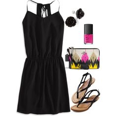 Untitled #579 by ohsnapitsalycia on Polyvore featuring moda, American Eagle Outfitters, Coach and NARS Cosmetics