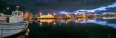 Puerto Pesquero noche. Santa Pola