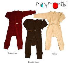 MaMidea: Children - Clothing - ManyMonths - MerinoWool - ManyMonths Wool One Piece Suit