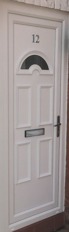Did you know you can get extra security for uPVC Doors & a uPVC Front Door with Side Panel from Value Doors? Check out our uPVC Back Doors fitted price & uPVC Front Door and Side Panel prices online. Upvc Porches, Upvc French Doors, Doors Online, Modern Door, Back Doors, Places, Check, Lugares