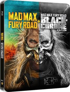 'Mad Max: Fury Road' Black & Chrome edition bluray steelbook from Zavvi for Taylor Swift New Album, The Witches Of Eastwick, Battle Angel Alita, Best Cinematography, Mad Max Fury Road, Lost In Space, Amazing Spiderman, Marvel Fan, Books To Buy
