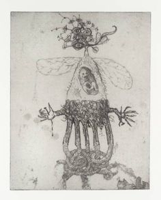 Jake and Dinos Chapman, Untitled, from the exquisite corpse portfolio of 20 etchings, Jake And Dinos Chapman, Jake Chapman, Automatic Drawing, Exquisite Corpse, Hieronymus Bosch, Animal Heads, Mural Painting, Teaching Art, Mythical Creatures