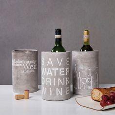 Weinkühler Poesie et Table von Räder