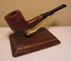 Vintage Rustic Straight Billiard Briar Estate Tobacco Smoking Pipe Unsmoked