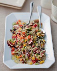 Quinoa, Sweet Peppers, and Fig Salad - Tastebook Recipes - Tastebook