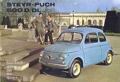 Les 500D et DL, premières Steyr-Puch à moteur spécifique !