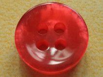 11 kleine rote KNÖPFE 12mm (3002-2)Knopf rot klein