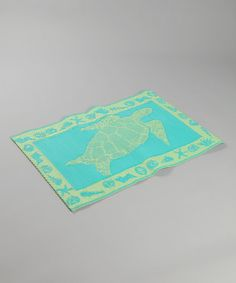 Take a look at this Turtle Rug on zulily today!