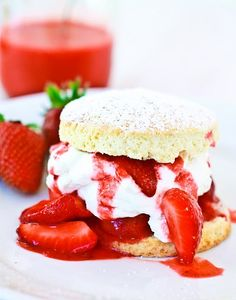 strawberry shortcake...