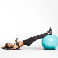 GET ON THE BALL Happy Tone It Up Tuesday! Today were going to be working our entire body with the TIU EXERCISE BALL! Heres what youll do: Three circuits plus three cardio components. Youll tone your total body with the exercise ball during the circu Stability Ball Exercises, Core Stability, Fitness Motivation, Cycling Motivation, Abs Workout Video, Workout Dvds, Plyometrics, Abs Workout For Women, Tone It Up