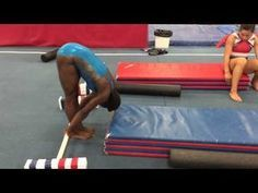 NEW Press handstand drills - YouTube