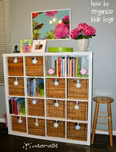 Tidy it Thursday: How to Organize Kids Toys « ipinterest