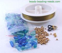 how to make beaded eyeglass lanyards