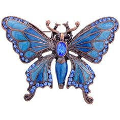 Sapphire Blue Butterfly Pins Vintage Style Austrian Crystal Insect Pin Brooch: http://www.amazon.com/Sapphire-Butterfly-Vintage-Austrian-Crystal/dp/B003ZZWHQ2/?tag=greavidesto05-20