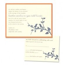 Brittany 2-Layer Wedding Invitations
