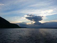 River Volga. Russia.