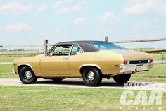 1975 chevy nova ss | 1969 Chevrolet Nova Ss396 Rear Three Quarter
