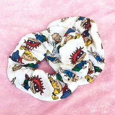 90's Rugrats Scrunchie by CyberspaceShop on Etsy https://www.etsy.com/listing/454395624/90s-rugrats-scrunchie