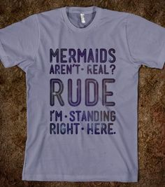 Mermaids Are Real - Galaxy Cats - Skreened T-shirts, Organic Shirts, Hoodies, Kids Tees, Baby One-Pieces and Tote Bags