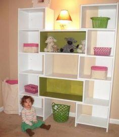 ana white Puzzle Bookcase