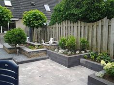 Back Gardens, Small Gardens, Outdoor Gardens, Dream Garden, Home And Garden, Garden Makeover, Small Garden Design, Garden Structures, Garden Planning