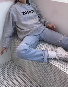 You are in the right place about teenager outfits vans Here we offer you the most beautiful pictures Cute Casual Outfits, Retro Outfits, Vintage Outfits, Summer Outfits, Chic Outfits, Sporty Outfits, Summer Clothes, Aesthetic Fashion, Aesthetic Clothes