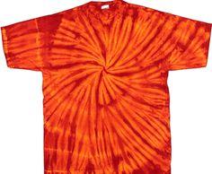 Cayenne spiral tie dye tshirt