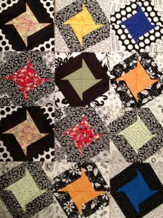 Quilters...Enjoy Color!: Double Option Stars