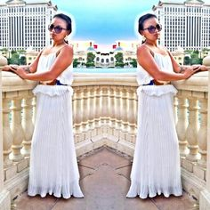 Gretian! Vegas! Love this comfy dress!