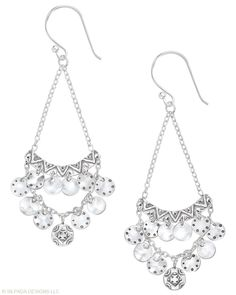 Confetti earrings (W2893) - 10% off until 9/30 - there's a fantastic necklace that goes with these too!