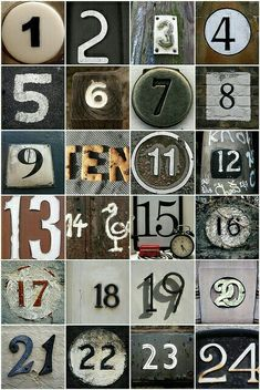 #NumerologyLetters