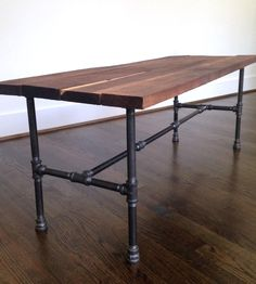 Riverside Reclaimed Wood Coffee Table | Whether your decor leans rustic or modern, this coffee table f... | Coffee Tables