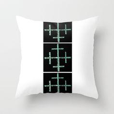 Vertical Throw Pillow by Jensen Merrell Designs - $20.00