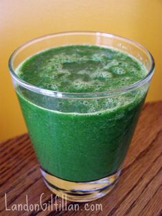 Kale Kiwi Smoothie: unexpectedly refreshing, almost like drinking a Fresca or a Sprite, except its packed with nutrients and flavor instead of being full of empty calories and chemicals.