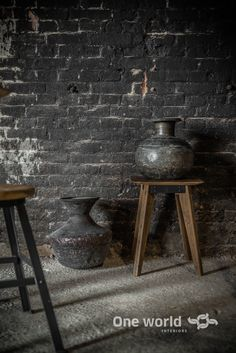 One World interiors - Copper and brass pots - Picture: Paulina Arcklin