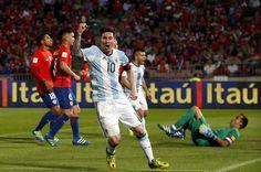 Messi is pumped! #9inesports @AFA Messi, Basketball Court, Soccer, Football, Baseball Cards, Sports, Hs Sports, Futbol, Futbol
