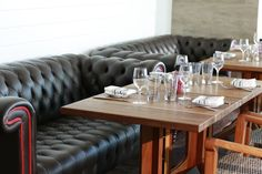 Comfortable seating at Fresh American Bistro at Solé on the Ocean Resort Miami