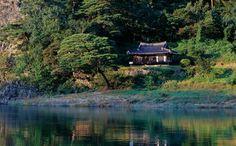 Gosanjeong in Andong, Korea South Korea Travel, Travel Info, Cabin, Culture, History, House Styles, Korean, Beautiful, Historia